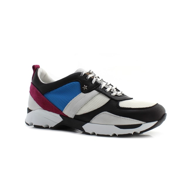 TENIS CUBANAS RUN800 BLACK+MULTI
