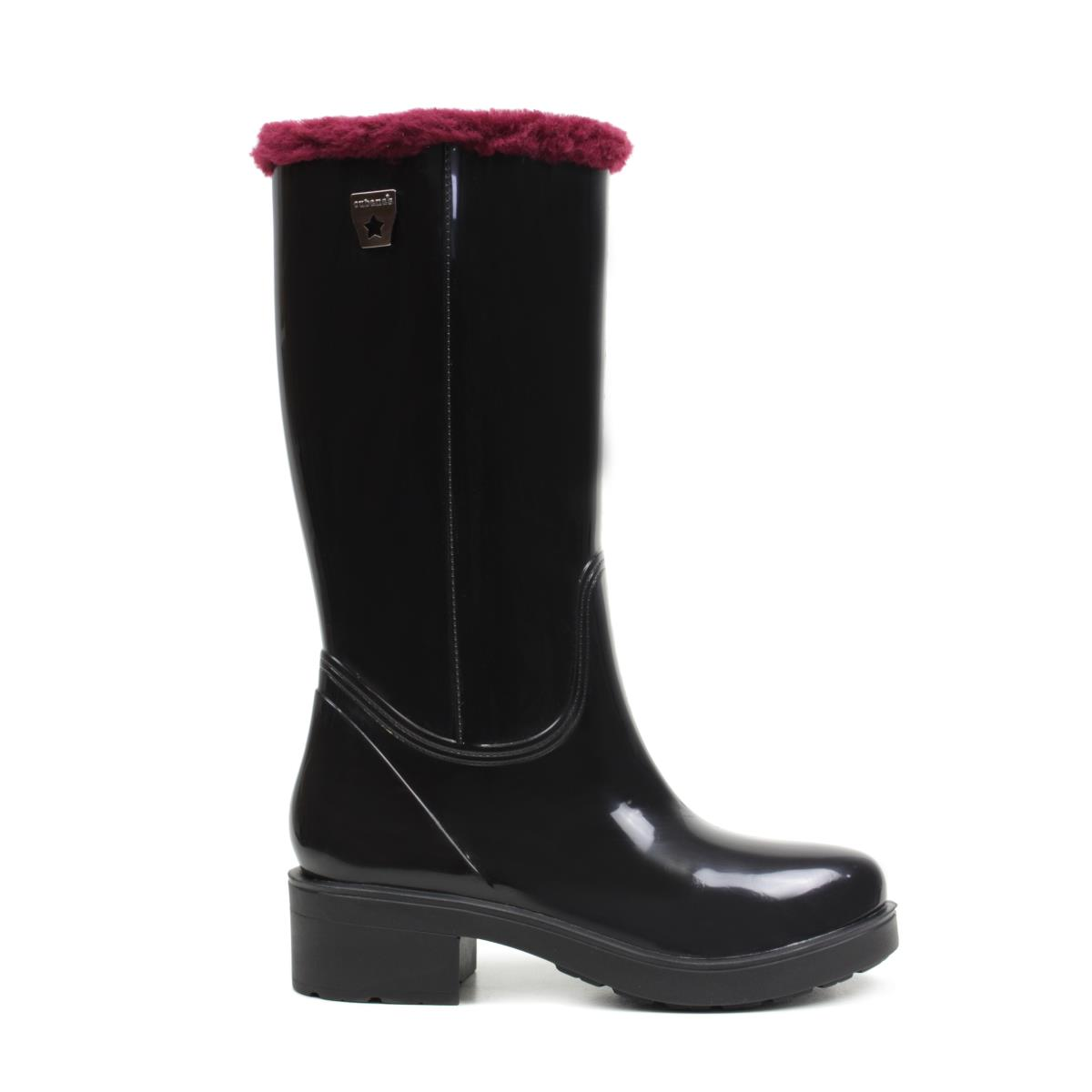 RAINYBOOT CUBANAS STORM430 BLACK+BORDEAUX