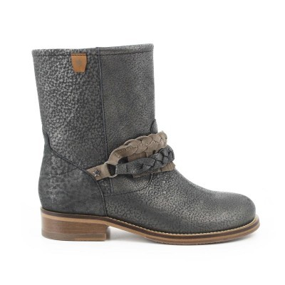 BOTA CUBANAS MUFFIN910 BLACK+ALMOND