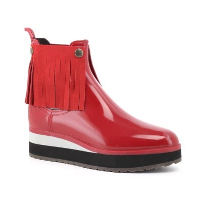 RAINYBOOT CUBANAS DERBY100 RED