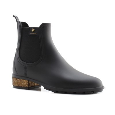 RAINYBOOT CUBANAS RAINY1030 BLACK+GOLD