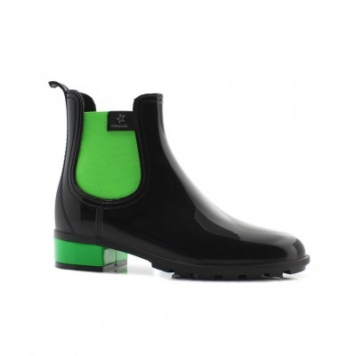 RAINYBOOT CUBANAS RAINY1021 BLACK+GREEN
