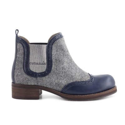 BOTA CUBANAS LIBERDAD210 MIDNIGHT BLUE+GREY