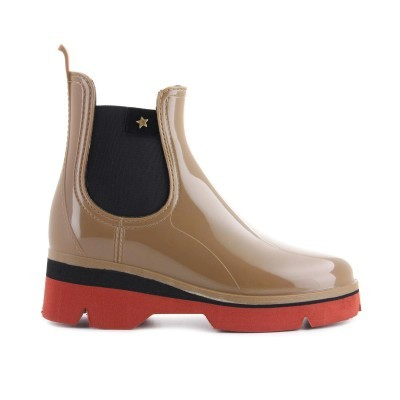 RAINYBOOT CUBANAS DERBY210 ALMOND+TERRACOTA