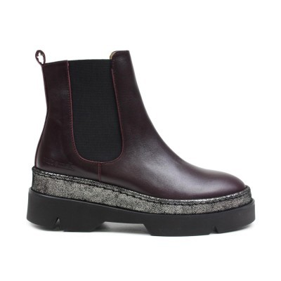 BOTA CUBANAS BLAKE200 DARK PURPLE+PEWTER