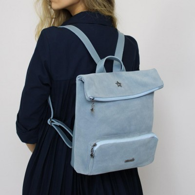 backpack cubanas blue country100blue Blue