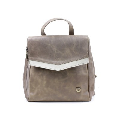 BACKPACK CUBANAS RACHAEL100 DARK BROWN