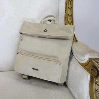 backpack cubanas beige country100beije Beige
