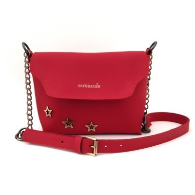 crossbody cubanas red acquabag200gred Red