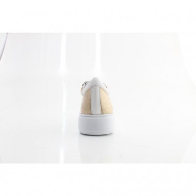 TENIS CUBANAS POLLY400 GOLD+WHITE