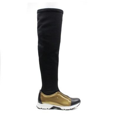 BOTA CUBANAS RUN420 GOLD+BLACK
