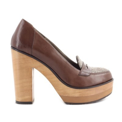 SCARPIN CUBANAS WAVE320 CHOCOLAT+BROWN