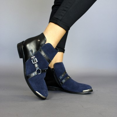 BOTA CUBANAS NATURE250BLUE Blue