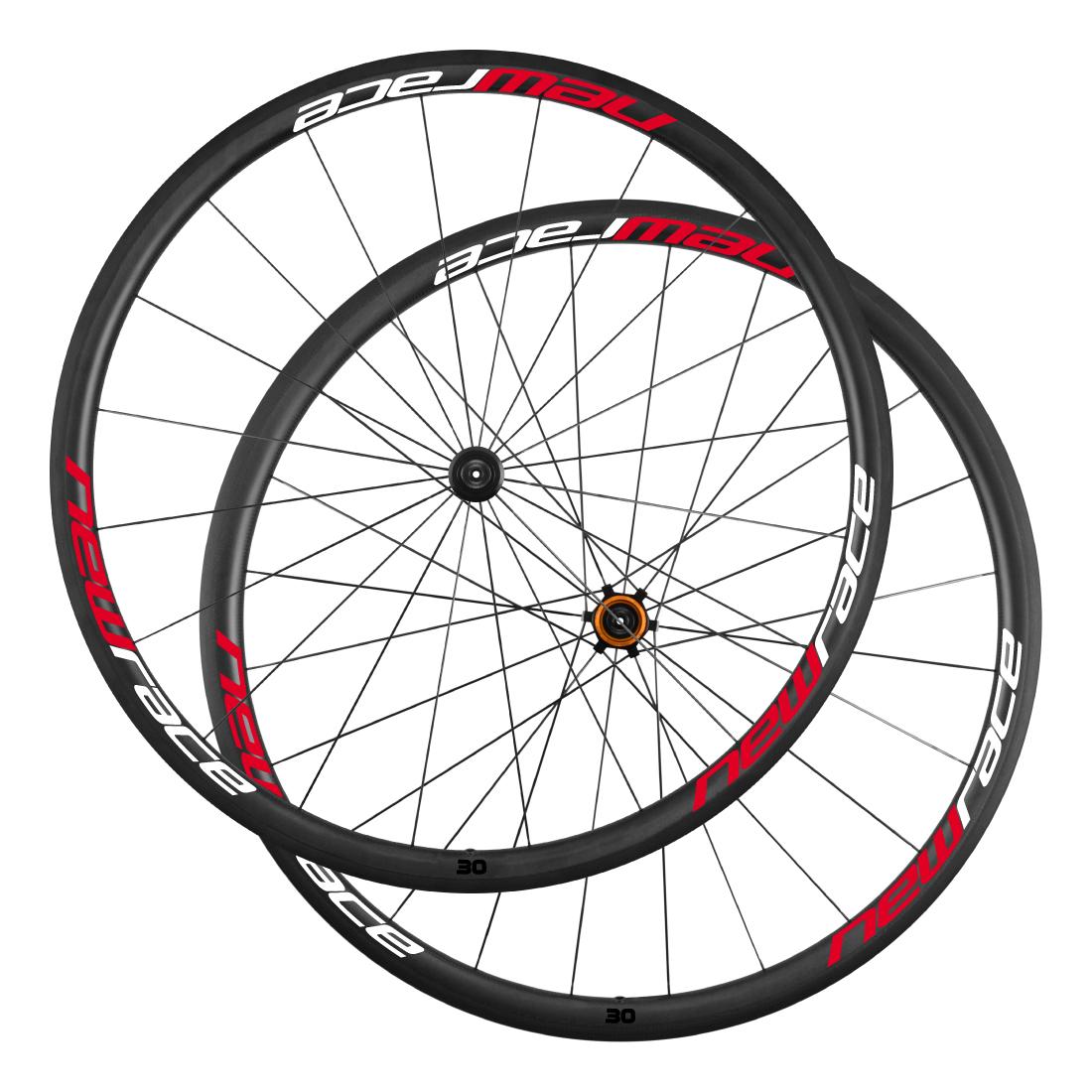 Rodas New Race Carbon 30 / pneu