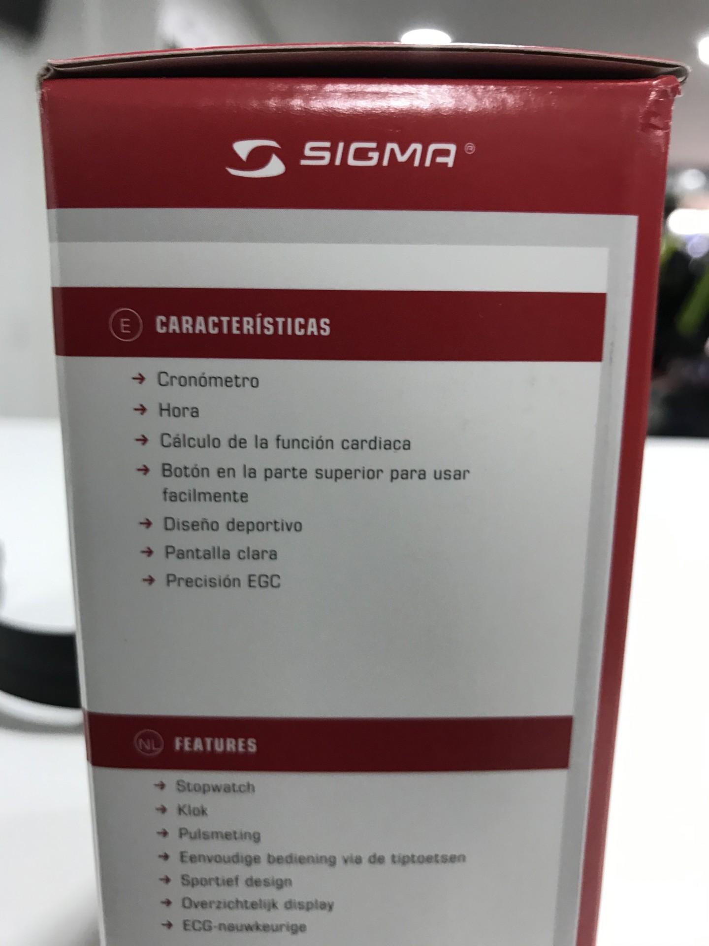 PULSOMETRO SIGMA PC 3