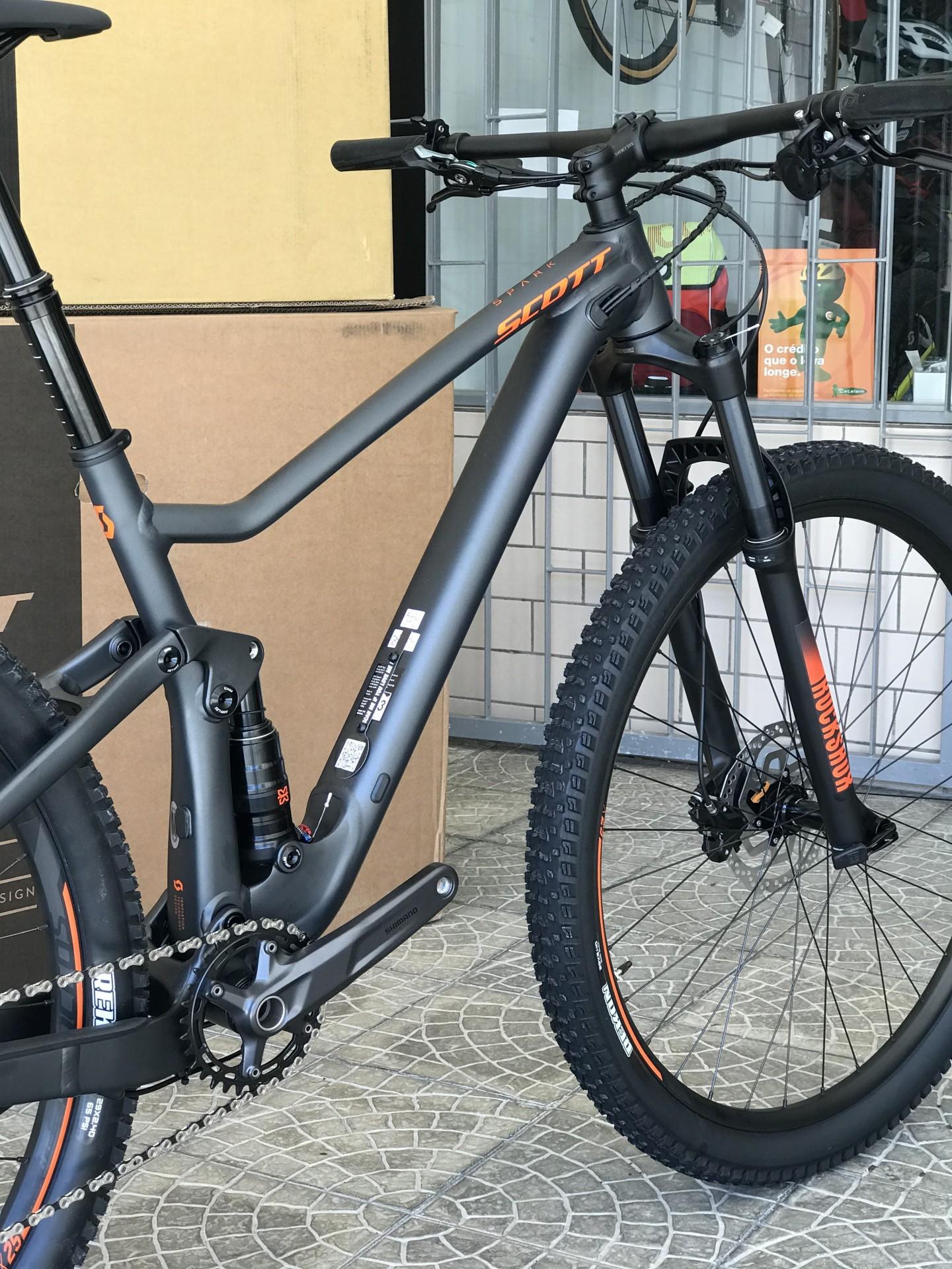 BICICLETA SCOTT SPARK 960 DARK GREY - 2021