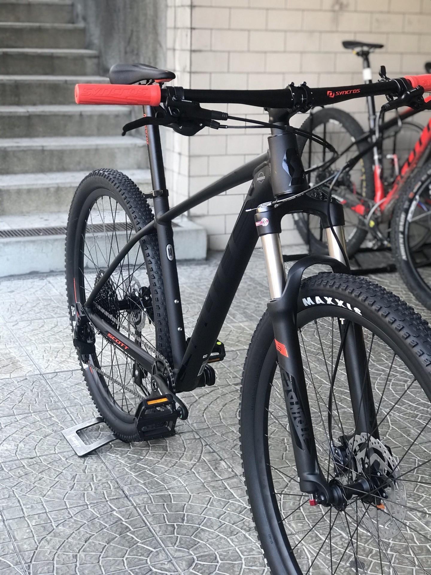 BICICLETA SCOTT SCALE 980 BLACK/RED