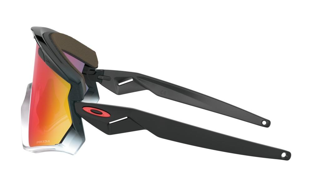 OCULOS OAKLEY Wind Jacket 2.0 Black Fade w/Prizm Road