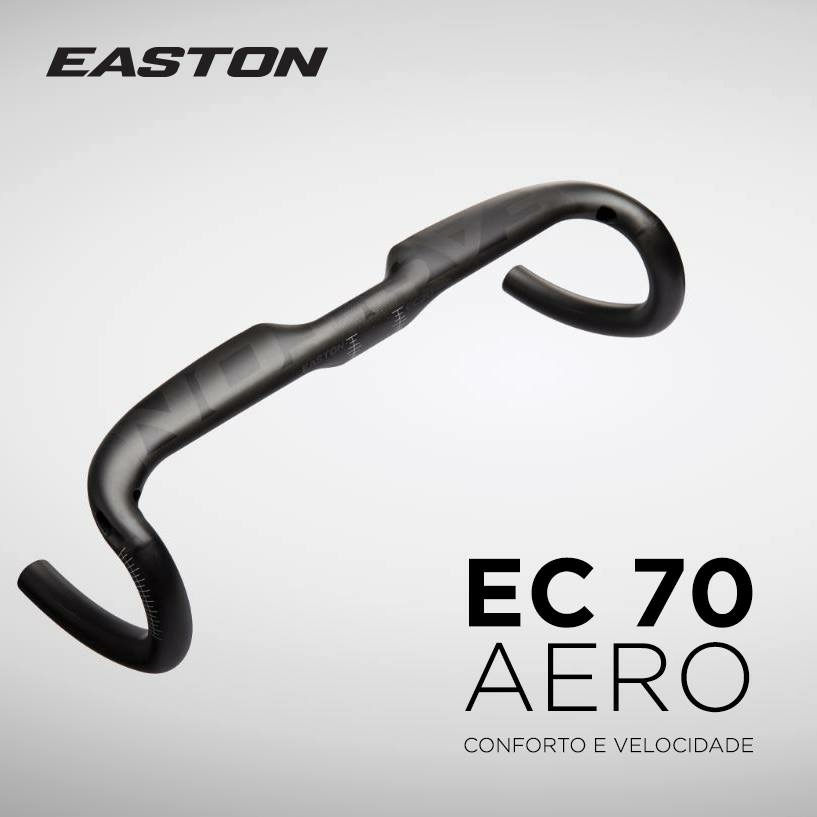 Guiador Estrada Easton EC70 AERO Carbono