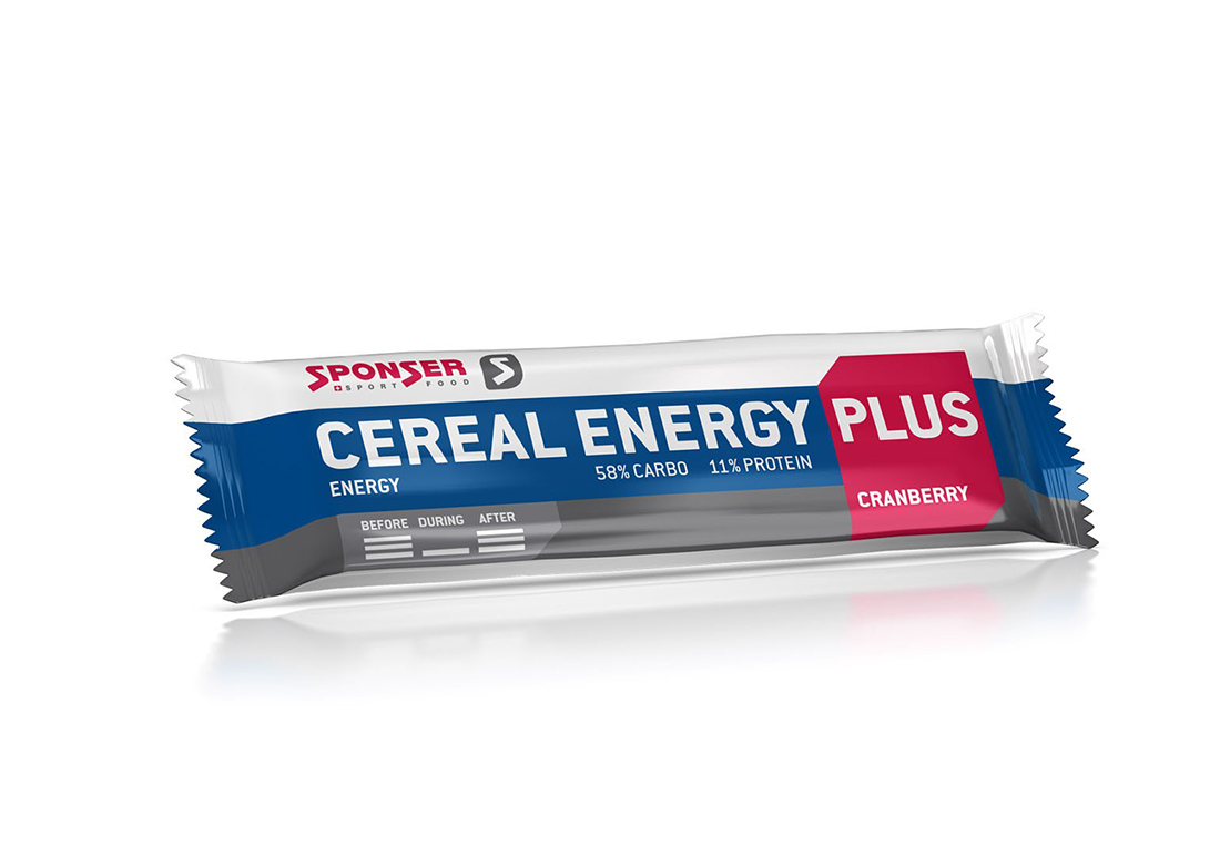 SPONSER BARRA ENERGY PLUS  CEREJA  40G