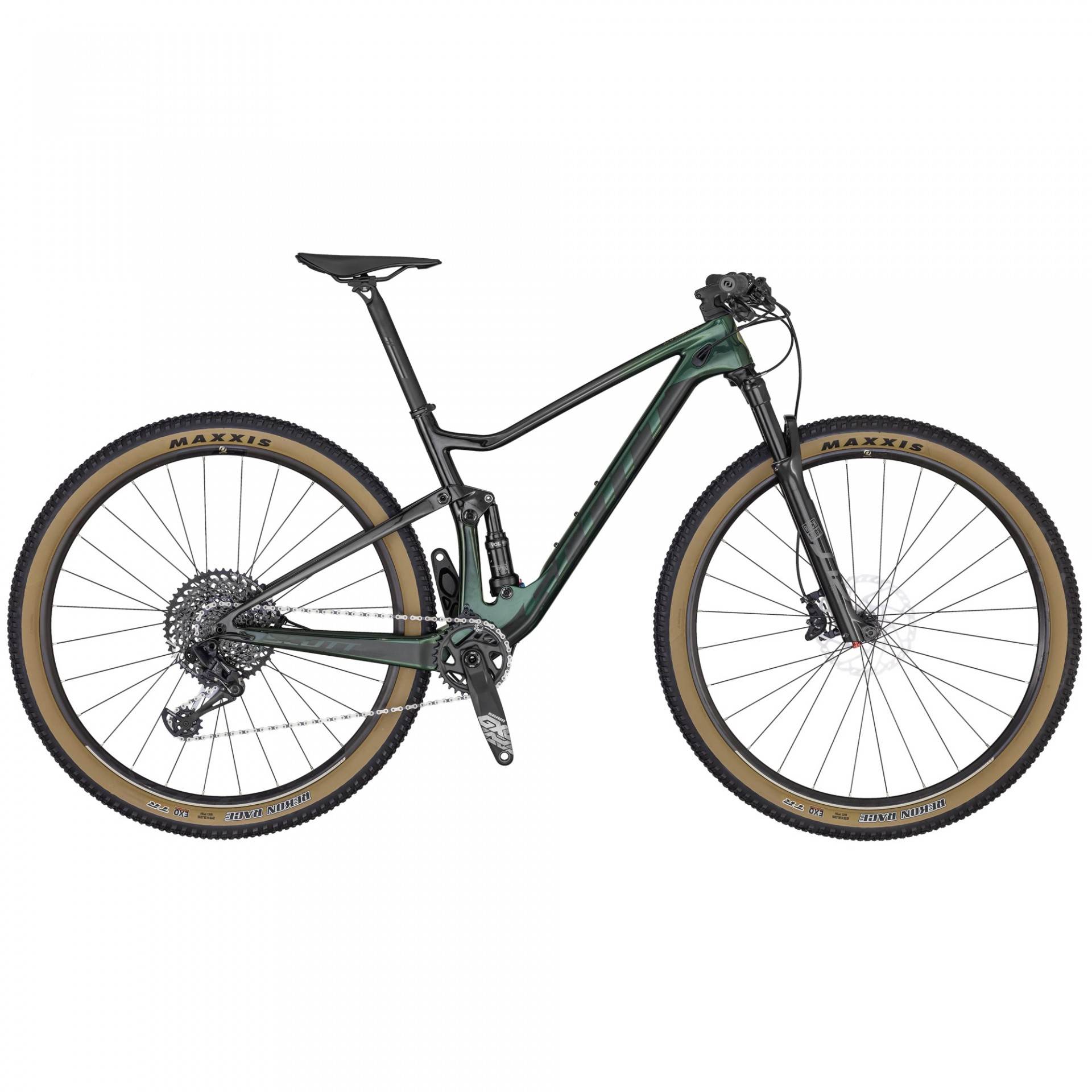 BICICLETA SCOTT SPARK RC 900 TEAM GREEN - 2020