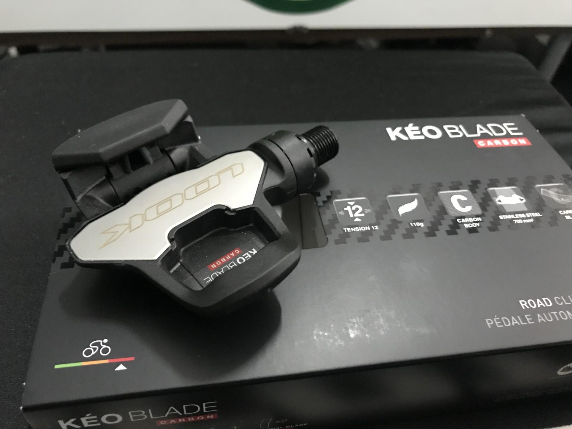Pedais Look Kéo Blade Carbon - 2018