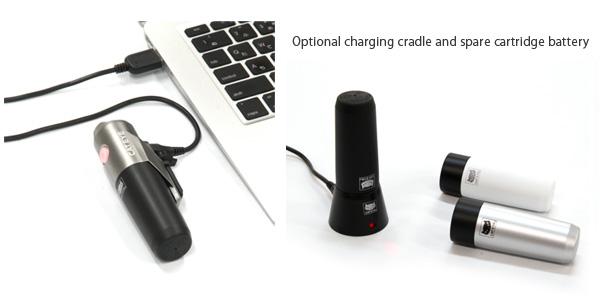 Luz Frente Cateye 300 Volt Set (Bateria e Carregador Extra)