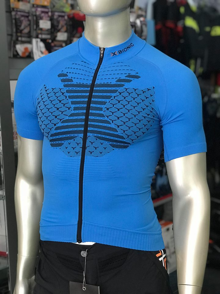 Camisola manga curta X-Bionic Twyce - Azul