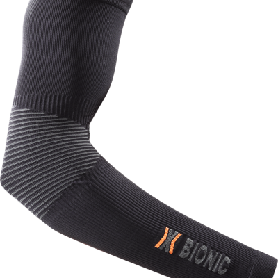 X-Bionic Manguitos Energy Accumulator® XQ-2 Arm Warmer SUMMER LIGHT - Preto