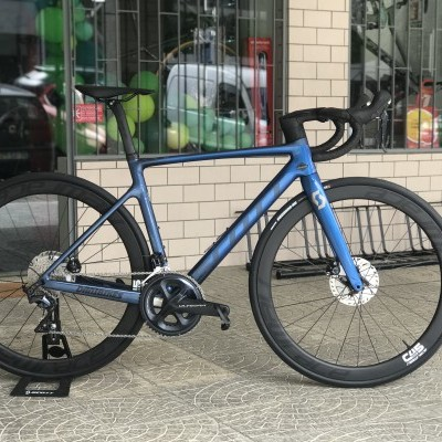 BICICLETA SCOTT ADDICT RC 30 BLUE Com RODAS CARBONO NEW RACE 45C