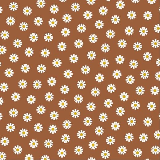 DAISY FLOWER | CARAMELO  | PLASTIFICADO