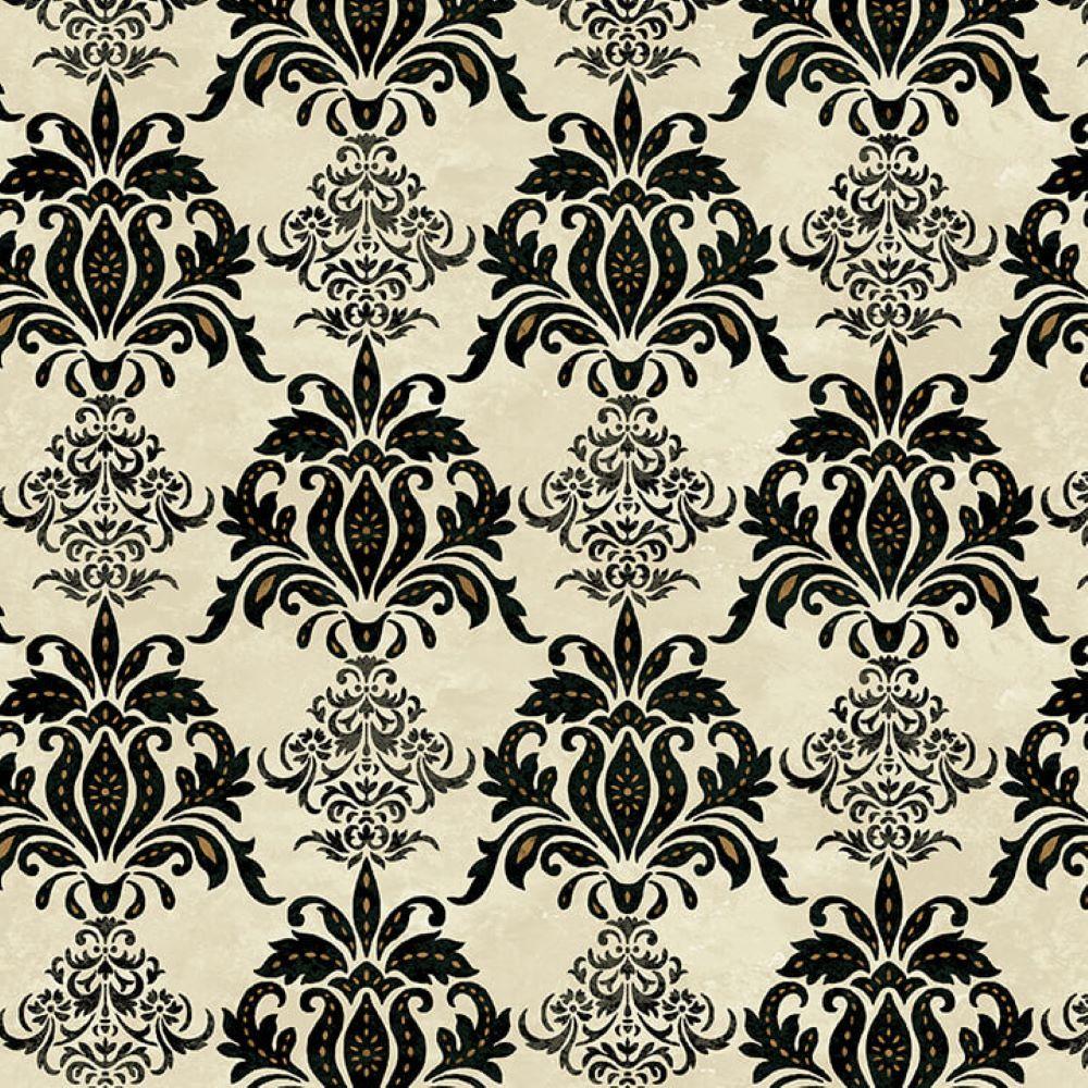 Le Poulet   Damask - Cream   Studio e Fabrics