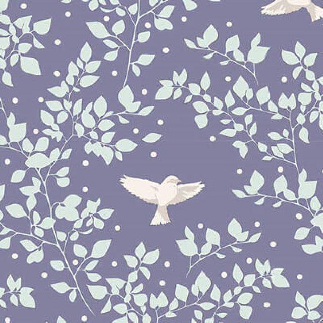 TILDA   MAPLE FARM :: BIRDIE   BLUEBERRY
