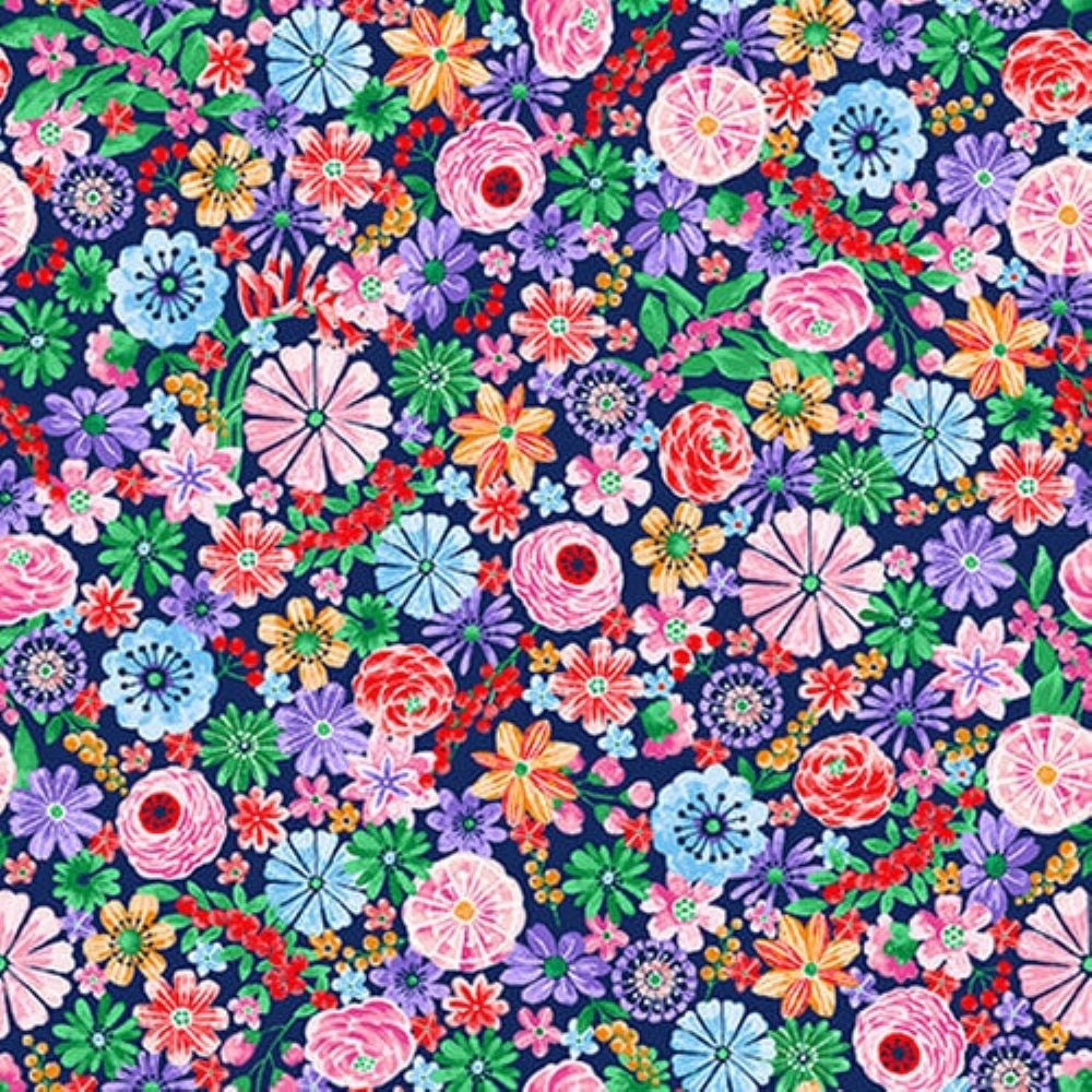 Mini Floral   Pink :: Wonderland   Blank Quilting