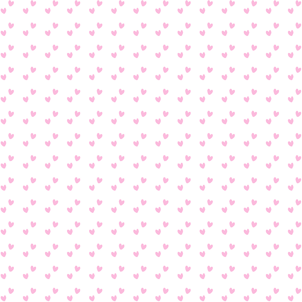 Mini Corações Rosa Bebé   Basics Baby   Fabricart