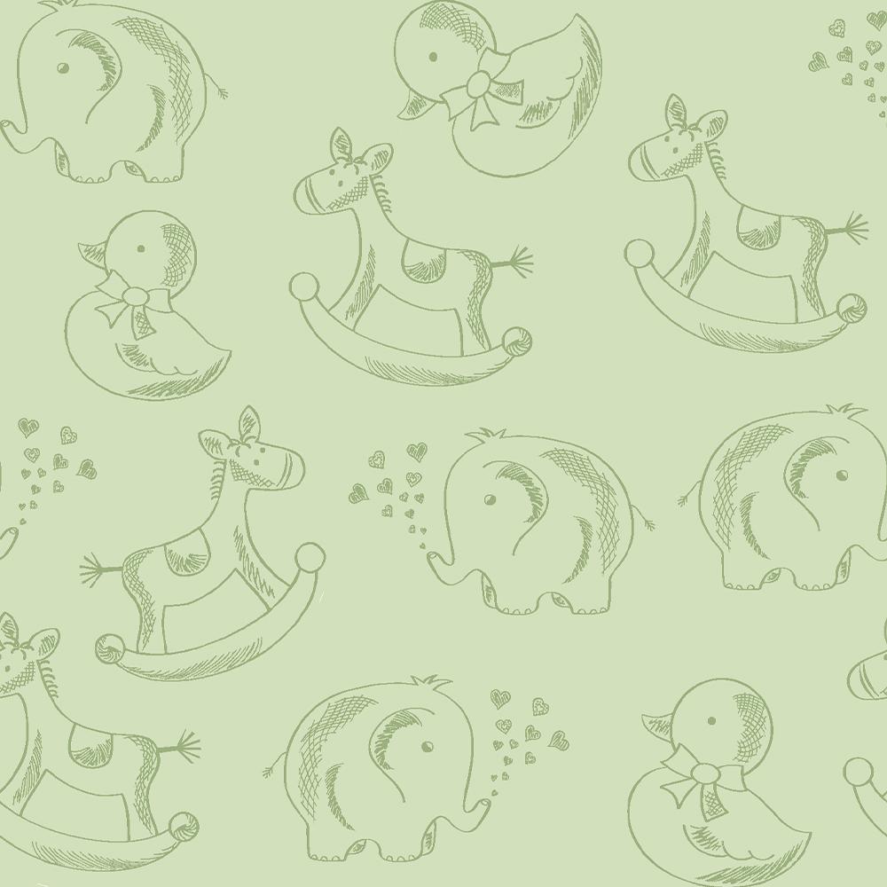 Basics Baby Colors :: Verde   Fabricart