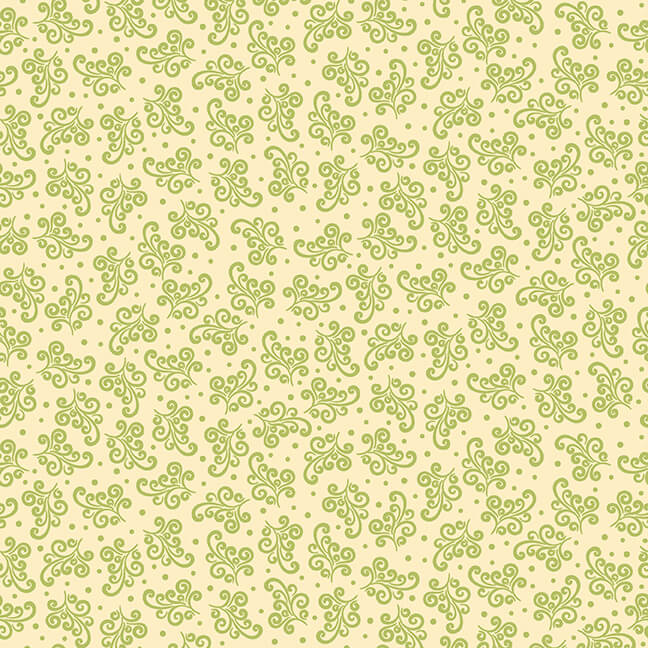 Pumpkin Spice   Tossed Scrolls - Cream   StudioE Fabrics