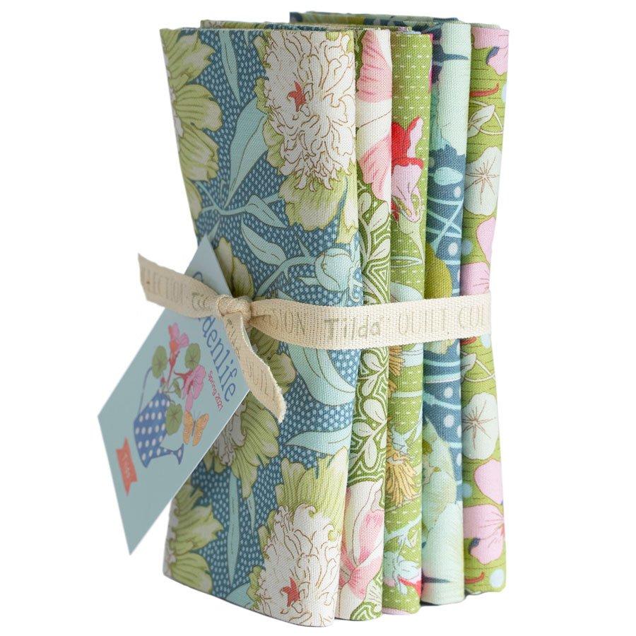 Gardenlife :: Bundle 5 FQ   Green / Sage - Tilda