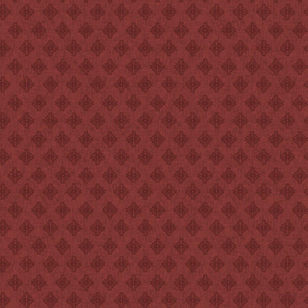 SCROLL DIAMONDS   RED :: BARN DANCE   BLANK QUILTING
