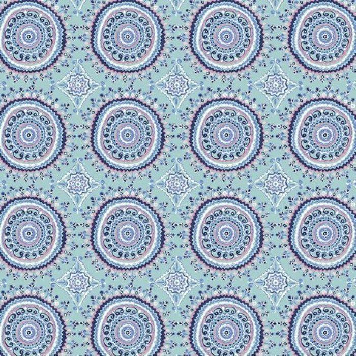 Ganesha Garden   Mandala - Aqua   Free Spirit
