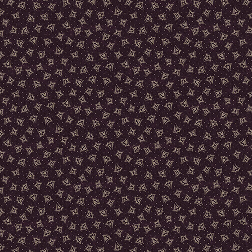 Abby's Treasures   Fans   Purple   Blank Quilting