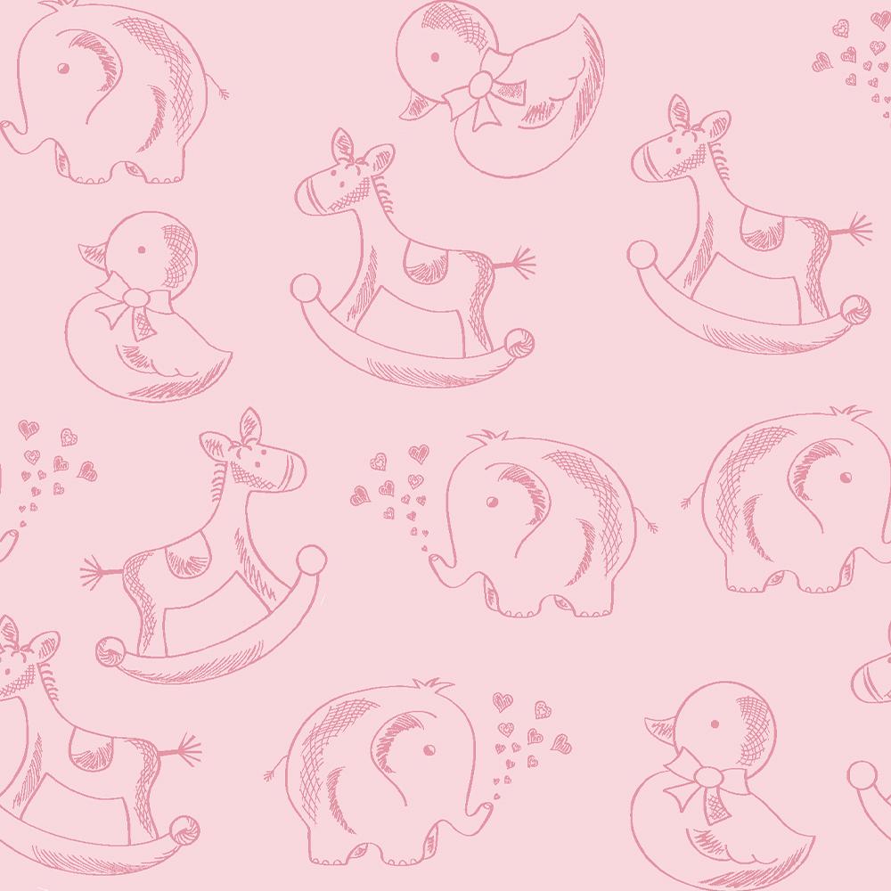 Basics Baby Colors :: Rosa Bebé   Fabricart