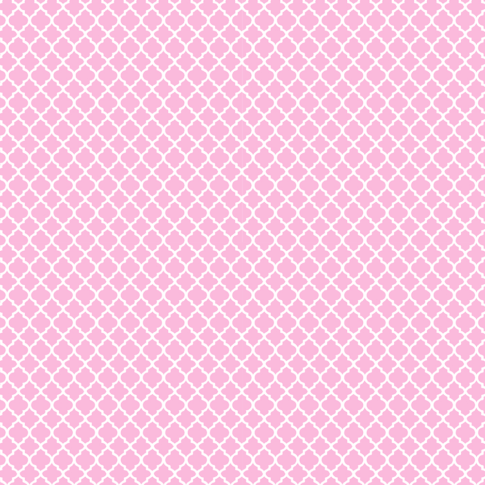 Mini Vitral Rosa Bebé | Basics Baby | Fabricart