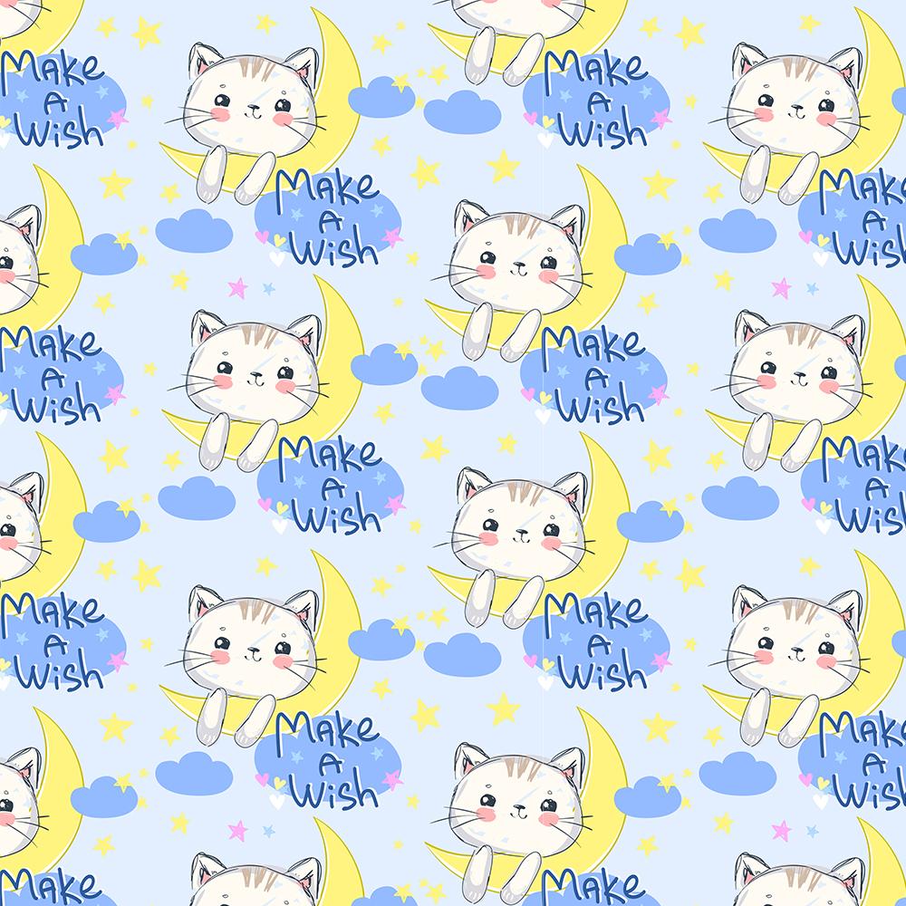 Make a Wish :: Cat Lovers   Fabricart