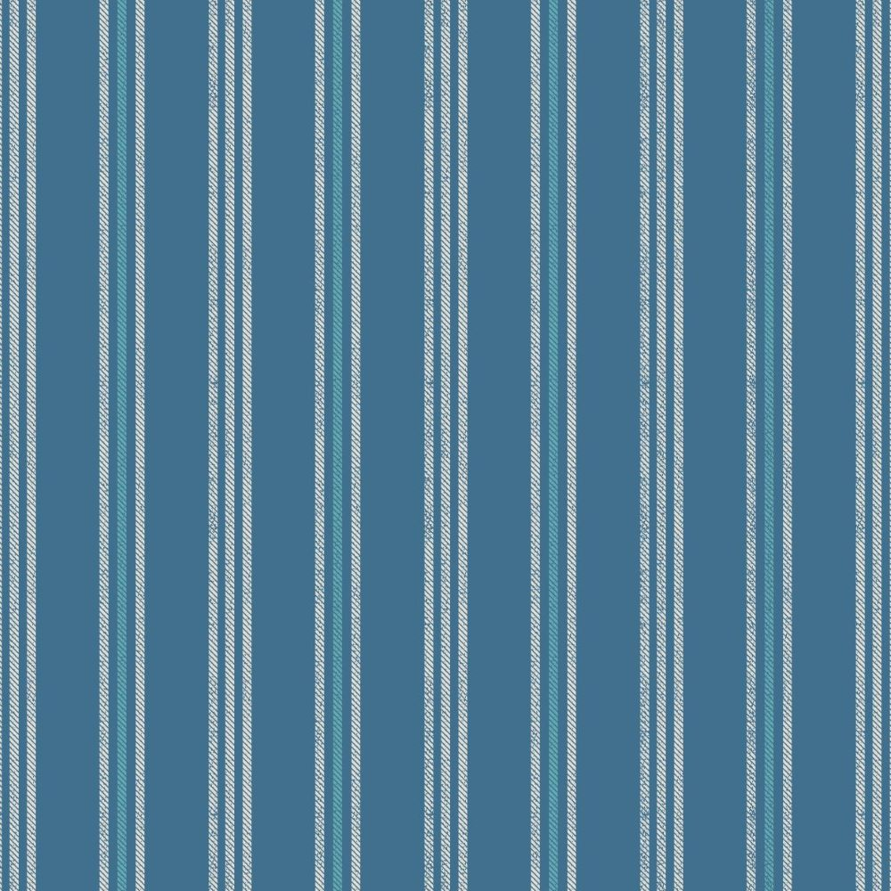 THALASSOPHILE :: COASTAL STRIPE   DARK BLUE