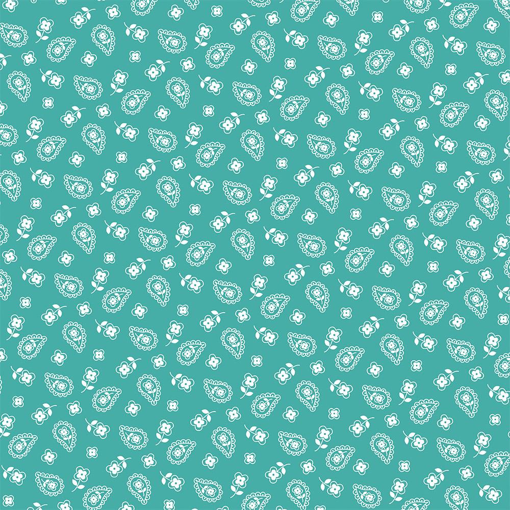 Mini Cashmere | Turquesa | Basics & Colors | Fabricart