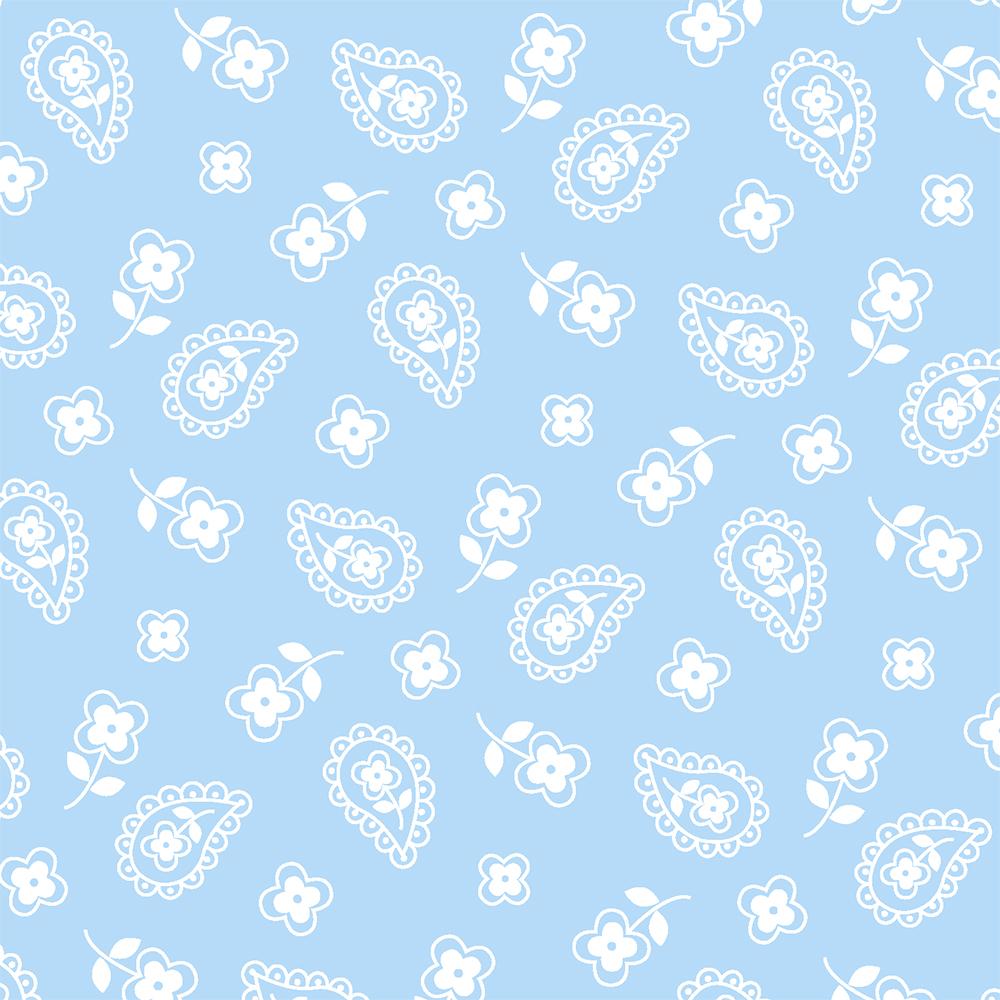 Mini Cashmere Azul Bebé | Basics Baby | Fabricart