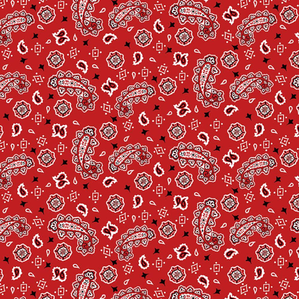 Bandana   Red :: Pups in the Garden   Henry Glass