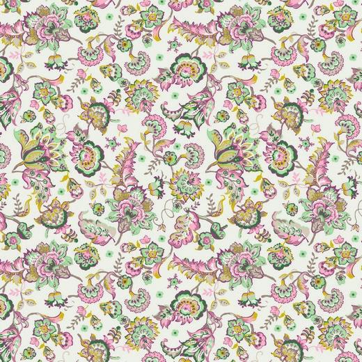 PAISLEY FLOWERS   BRANCO   POPPY