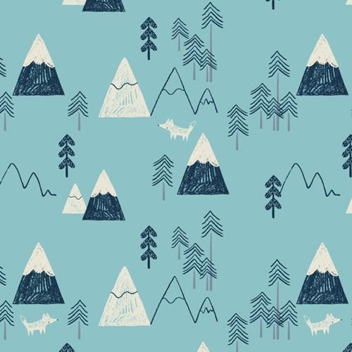 LASKA :: MOUNTAINS IN BLUE | DASHWOOD STUDIO